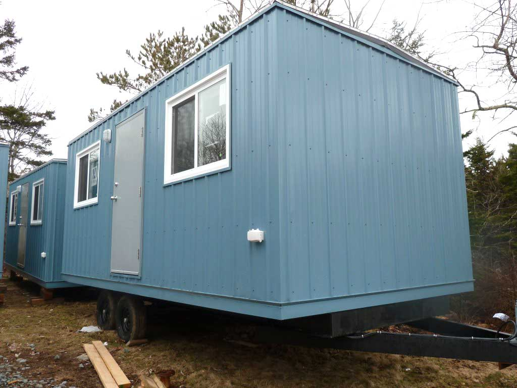 Portable Office Trailers : Custom mobile office trailers in atlantic canada adare